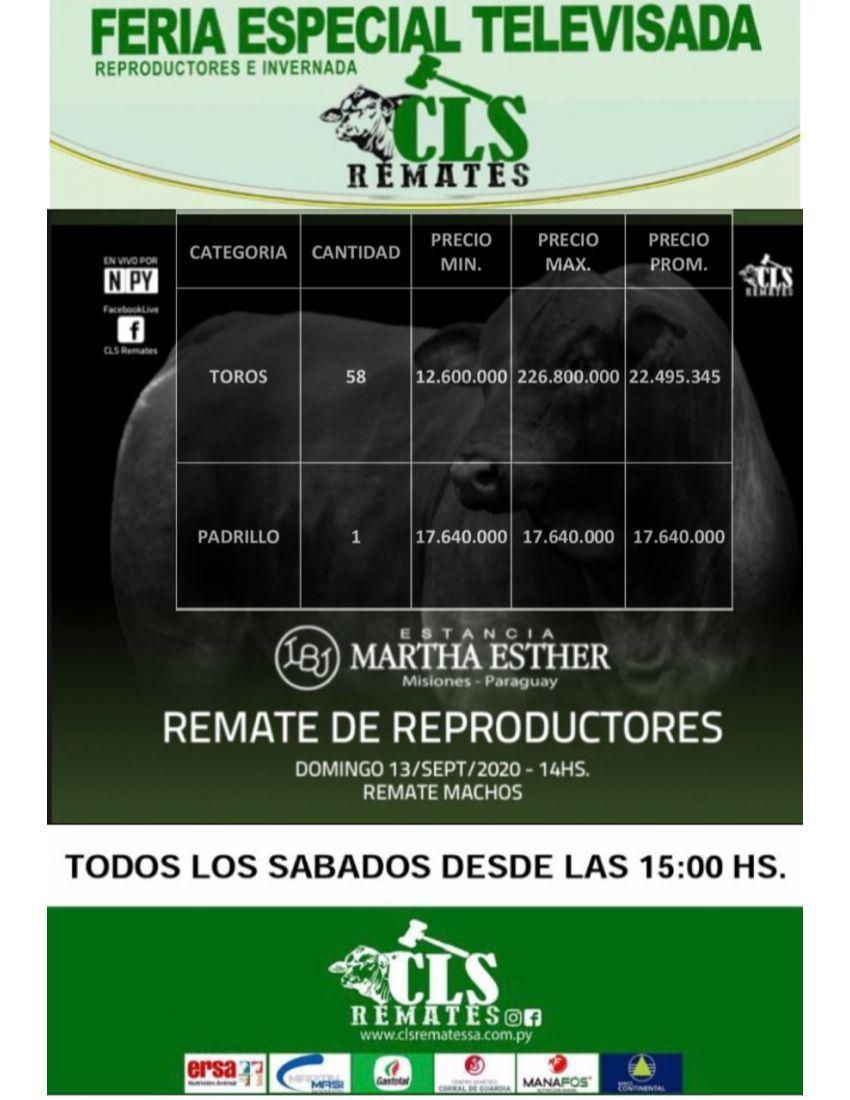 PRECIOS FERIA 13/09/2020